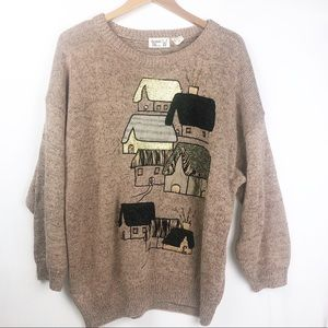 80s Vintage Bonnie & Bill by Holly Sweater